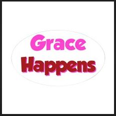 Grace Happens Bumber Sticker