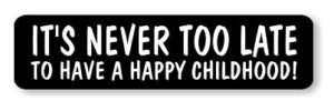 Happy Childhood Sticker